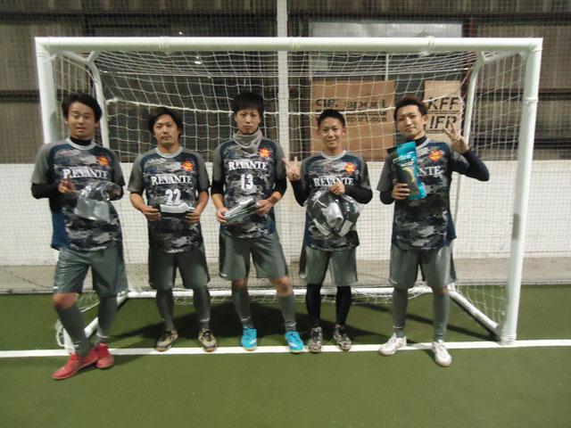 優勝F.C.REVANTE