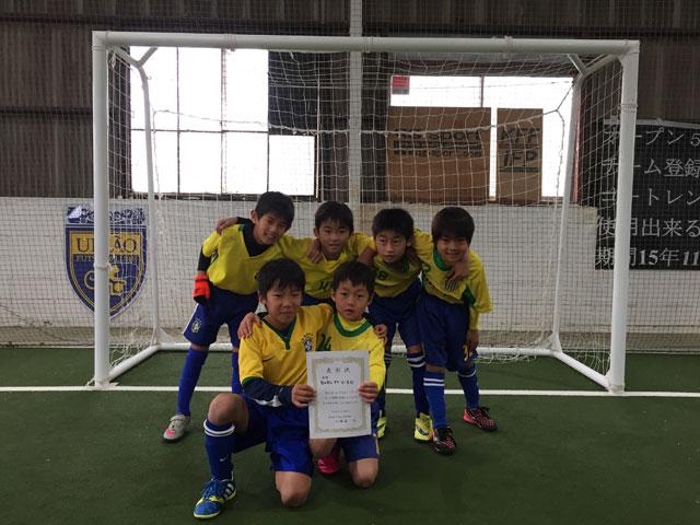 優勝BOBO-FC-U-8