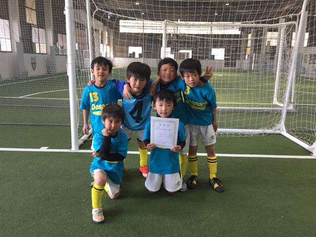 優勝-BANDIERA-FC-U-78